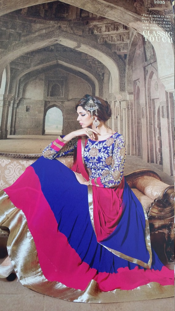 Unique Bridal Dress Anarkali Suit Indian By MaahRoseClothings