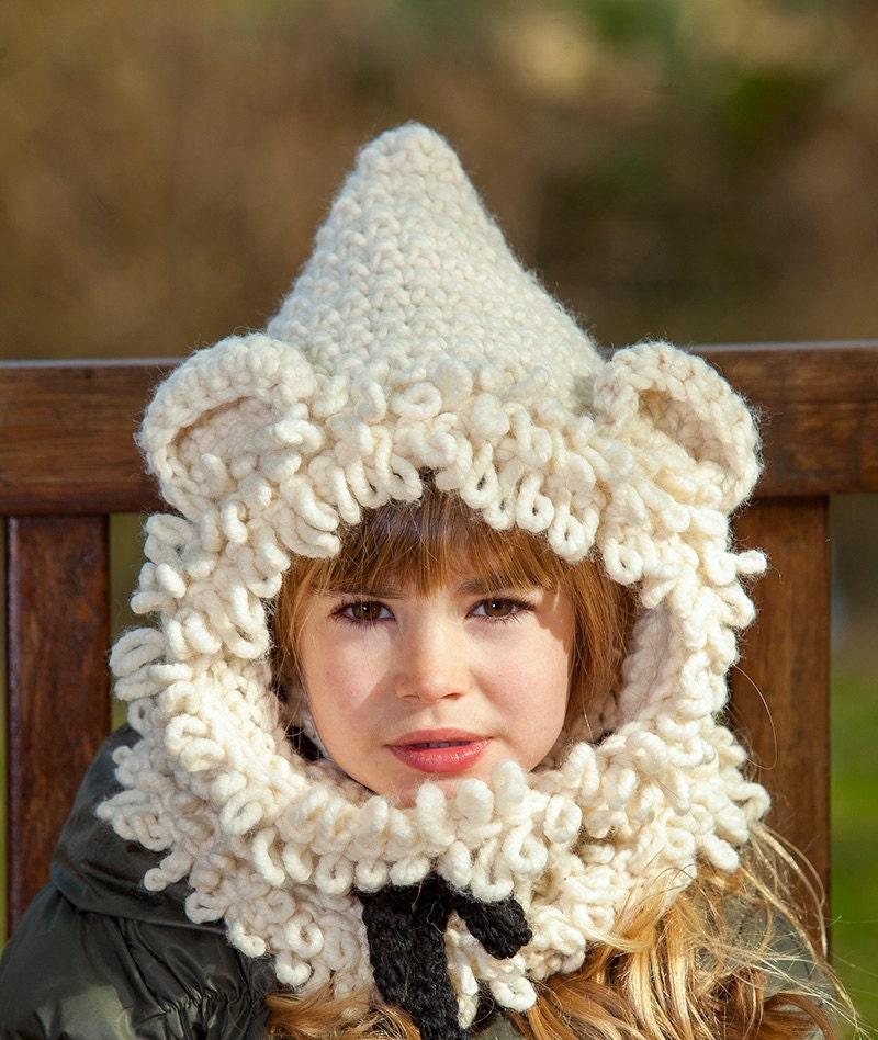 Free Crochet Pattern For Polar Bear Hooded Cowl Nemetas