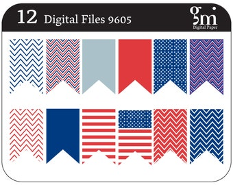 Flag Day, Happy Flag Day, Flag Day Clip Art, Flag Day Clipart, National Flag Day, Instant Download