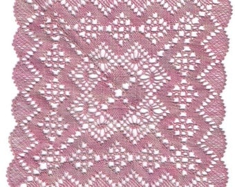 Elanor - A Torchon Lace Coaster Pattern In Four Sizes, Bobbin Lace Pattern