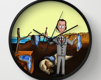Salvador Dalí wall clock