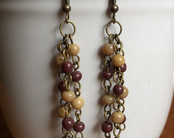Naturals Beaded Dangle Earrings
