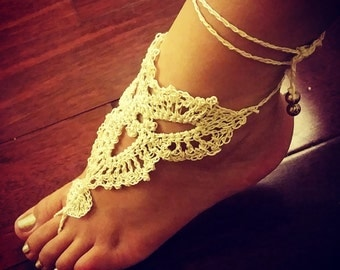 Triangle Barefoot Sandal (PAIR)