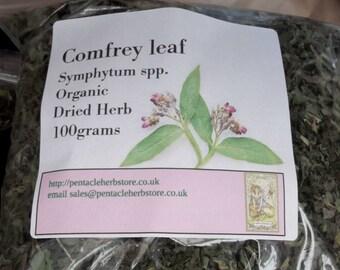 Comfrey dried organic herb
