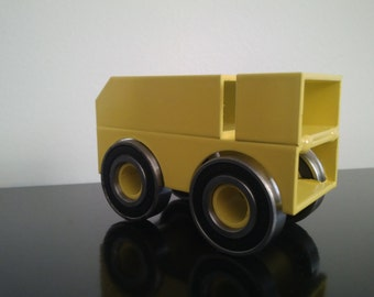 "Gift ""Yellow Dakar"" model"