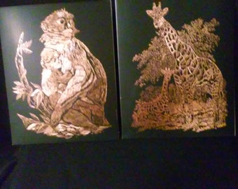 Engraving Art Work