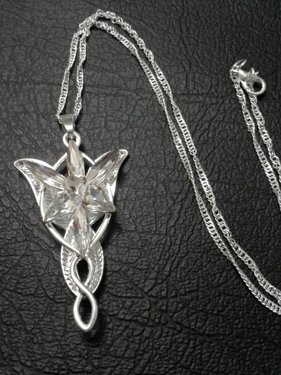 lord of the rings evenstar replica necklace by shopveedesigns