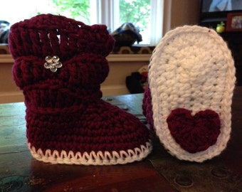 Hearts On My Sole Slouch Boots