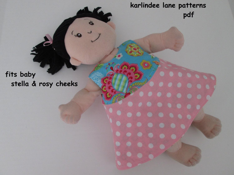 Pattern Fits Baby Stella & Rosy Cheeks reversible dress