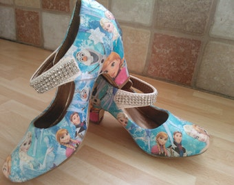 Frozen customised shoes