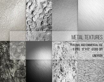 SALE! Metal Textures Silver background. Liquid silver. Platinum, Silver foil, scrapbooking papers, digital papers, vintage, grunge, glitter