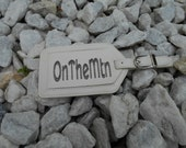 Bone OnTheMtn Luggage Tag