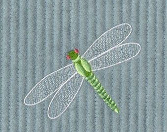 Dragonfly Machine Embroidery Design