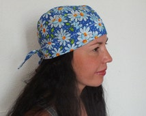 SEWING PATTERN Scrub hat Scrub cap sewing pattern surgical hat pattern  chemo hat patterns - women's men's  bike bandana -scrub hat pattern