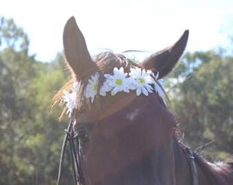 Flower Horse Browband