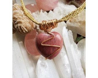 Rhodonite-the power of love.