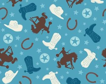 Fabric, Cowboy Blue fabric By Riley Blake