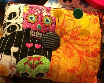 Sugar Skull Pin Cushion