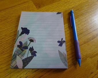 Pressed Wildflower Notepad