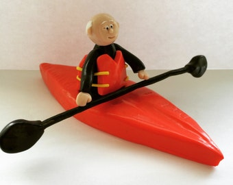 Canoe Personalised Cake Topper- with imprint
