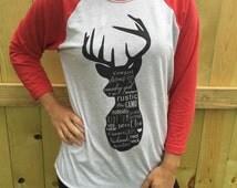 Deer Shirt,Deer antler,hunting shirt,hunting decor,country shirt,graphic shirt,redneck gift,country shirt,redneck shirt,birthday gift
