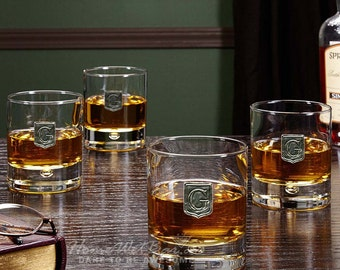 Bryne Regal Crested Old Fashioned Glasses, Set of 4