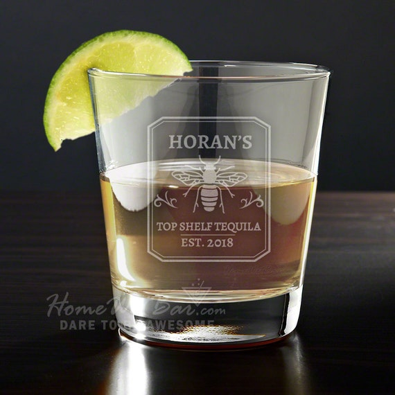 Personalized Tequila Glass