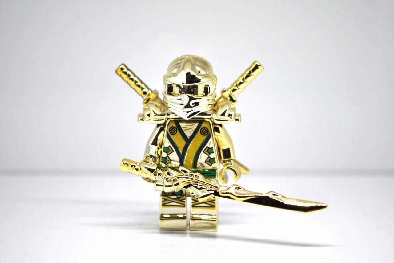 Lego Ninjago Gold Ninja Decals Popular Items For On Etsy