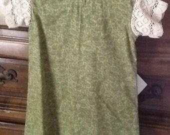 School Dress Green A-Line