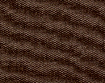 Brown Light weight Organic Hemp/Cotton fabric