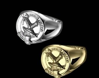 Clan Macdougall Crest Men's Signet Ring