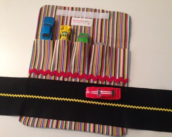 Car Wallet - Trucks & Stripes