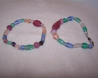 Rainbow bracelets