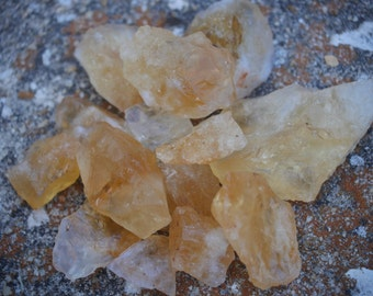 Rough Natural Citrine Stones