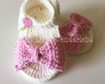 Crochet baby sandals,Handmade baby shoes,Summer shoes, Bow sandals Sandalini, Scarpine, Uncinetto