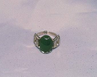 Jade Mans Pharoahs Ring