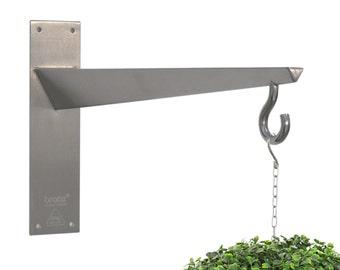 hangtec kegel ht 4a09 edelstahl wandhalterung f r h ngende. Black Bedroom Furniture Sets. Home Design Ideas