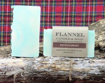 Refreshmint Lavender Spearmint Essential Oil Soap