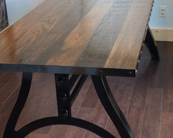 """The """"Arcus"""" Industrial Dining Table"""