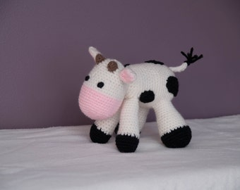 Cow Stuffed Animal Amigurumi