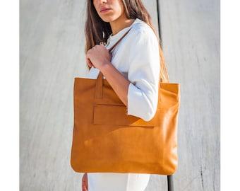 CLARA BAG - tote leather bag