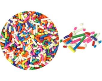 Rainbow Jimmies - 3.2 oz