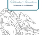 Whimsical Adventures Coloring Pages