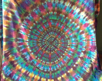 Custom Color Tie-Dyed Tapestries