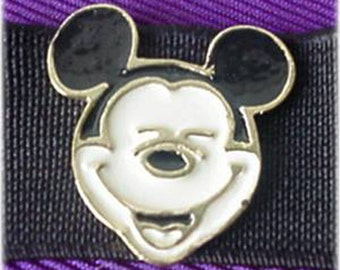 Mickey Mouse on Elastic Dress Clip