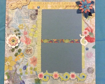 Premade Scrapbook Page (any occasion)