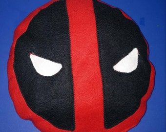 "10"" Deadpool pillow. Custom sizes availiable"