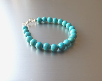 Pearl - Turquoise bracelet