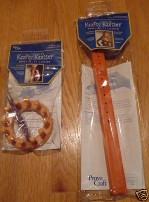 Knitting Loom Pom Pom Maker : New knifty knitter flower loom pom and tassel maker