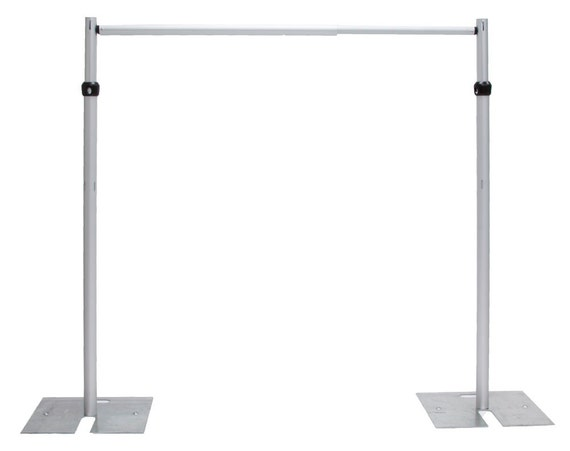 7ft X 10 Ft Stainless Steel Wedding Backdrop Stand Backdrop